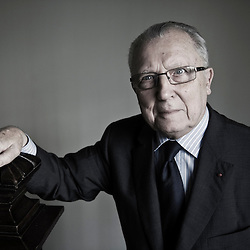 Jacques Delors the former President of the European Commission