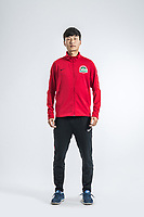 **EXCLUSIVE**Portrait of Chinese soccer player Long Wei of Henan Jianye F.C. for the 2018 Chinese Football Association Super League, in Zhengzhou city, central China's Henan province, 21 February 2018.