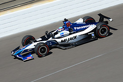 April 30, 2018 - Indianapolis, IN, U.S. - INDIANAPOLIS, IN - APRIL 30: Takuma Sato (30) during an Open Test on April 30, 2018, at the Indianapolis Motor Speedway in Indianapolis, IN. (Photo by James Black/Icon Sportswire) (Credit Image: © James Black/Icon SMI via ZUMA Press)