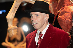 October 4, 2018 - London, London, UK - London, UK. Dr Gunther von Hagens takes part in the launch of Body Worlds exhibition. The German anatomist invented plastination and is known for pioneering work on corpses. (Credit Image: © Ray Tang/London News Pictures via ZUMA Wire)