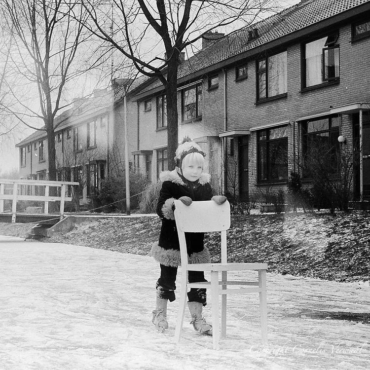 Ammerse jeugd anno 1977  aan de Snackertstraat.