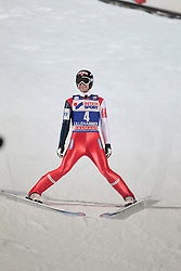 24.11.2012, Lysgards Schanze, Lillehammer, NOR, FIS Weltcup, Ski Sprung, Herren, im Bild Jacobsen Anders (NOR) during the mens competition of FIS Ski Jumping Worldcup at the Lysgardsbakkene Ski Jumping Arena, Lillehammer, Norway on 2012/11/23. EXPA Pictures © 2012, PhotoCredit: ..EXPA/ Federico Modica
