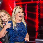 NLD/Hilversum/20180126 - The Voice of Holland 2017 show 1, Sanne Hansen en Anouk