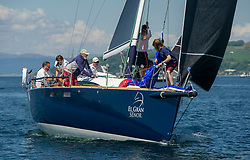 Day 3 Scottish Series, SAILING, Scotland.<br /> <br /> El Gran Senor, J122E, 4822R, CCC<br /> <br /> The Scottish Series, hosted by the Clyde Cruising Club is an annual series of races for sailing yachts held each spring. Normally held in Loch Fyne the event moved to three Clyde locations due to current restrictions. <br /> <br /> Light winds did not deter the racing taking place at East Patch, Inverkip and off Largs over the bank holiday weekend 28-30 May. <br /> <br /> Image Credit : Marc Turner / CCC