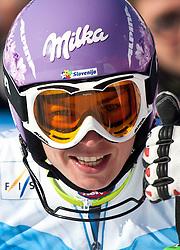 04.03.2011, Pista di Prampero, Tarvis, ITA, FIS Weltcup Ski Alpin, Supercombi der Damen, im Bild Tina Maze (SLO, Platz 1) // Tina Maze (SLO Pllace 1) during Ladie's Supercombi FIS World Cup Alpin Ski in Tarvisio Italy on 4/3/2011. EXPA Pictures © 2011, PhotoCredit: EXPA/ J. Groder