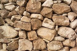 Dry stone wall,