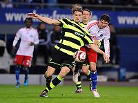 v.l. Glenn Loovens , Marcus Berg HSV<br /> Europa League Hamburger SV - Celtic Glasgow<br /> <br /> Norway