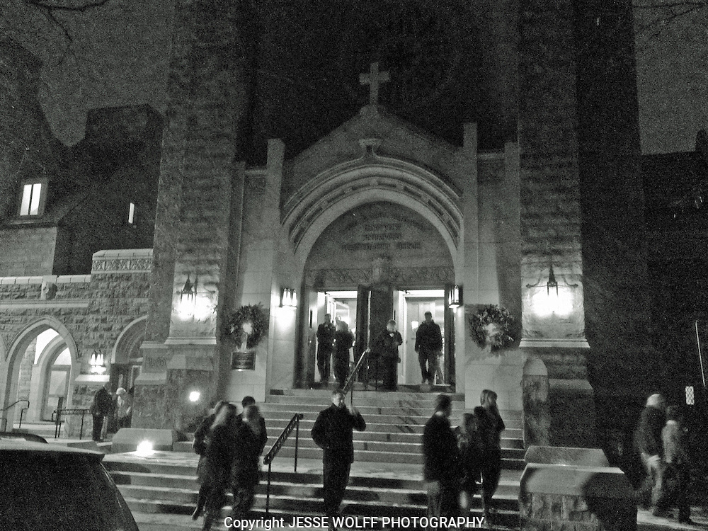 This was a very beautiful Christmas Eve at the Montview Presbyterian church in Denver, CO.