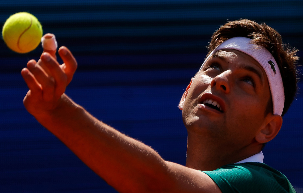 Tennis-ATP Serbia Open Belgrade 2021<br /> Matteo Berrettini (ITA) v Filip Krajinovic<br /> Beograd, 23.04.2021.<br /> foto: Srdjan StevanovicStarsportphoto ©