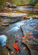 Six Finger Falls is a natural wonder in the Richland Creek area of south Newton county in north Arkansas.