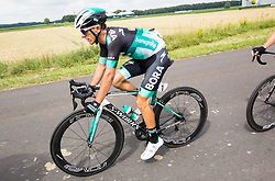Rafal Majka of Bora Hansgrohe during 1st Stage of 25th Tour de Slovenie 2018 cycling race between Lendava and Murska Sobota (159 km), on June 13, 2018 in  Slovenia. Photo by Vid Ponikvar / Sportida