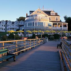Bar Harbor, ME.The Bar Harbor Inn and the Terrace Grill restaurant.
