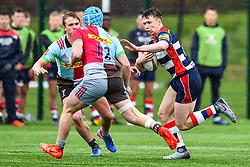 Charlie Powell of Bristol Academy U18 in action - Mandatory by-line: Craig Thomas/JMP - 03/02/2018 - RUGBY - SGS Wise Campus - Bristol, England - Bristol U18 v Harlequins U18 - Premiership U18 League