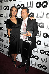 SAFFRON ALDRIDGE and MARK HIX at the GQ Men of the Year Awards held at the Royal Opera House, London on 2nd September 2008.<br /> <br /> NON EXCLUSIVE - WORLD RIGHTS
