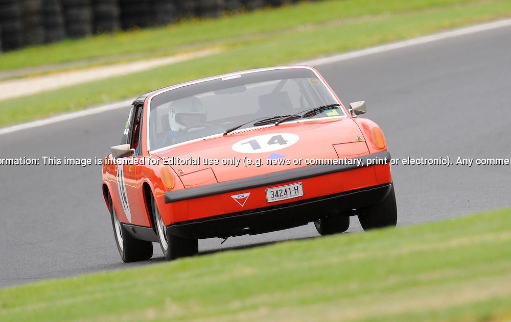 Ralph Pauperis - Porsche 914 .Historic Motorsport Racing - Phillip Island Classic.18th March 2011.Phillip Island Racetrack, Phillip Island, Victoria.(C) Joel Strickland Photographics.Use information: This image is intended for Editorial use only (e.g. news or commentary, print or electronic). Any commercial or promotional use requires additional clearance.