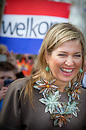 30-3-2016 Nieuwer Ter Aa - Queen Maxima visit Wednesday, March 30th Village Our Pleasure In Newer Ter Aa. The village is one of the eleven nominees for the Apples of Orange in 2016, the annual award of the Oranje Fonds. COPYRIGHT ROBIN UTRECHT 30-3-2016 Nieuwer Ter Aa - NIEUWER TER AA - Koningin Maxima brengt als beschermvrouwe van het Oranje Fonds een bezoek aan Dorpshuis Ons Genoegen. Het dorpshuis is een van de elf genomineerden voor de Appeltjes van Oranje 2016, de jaarlijkse prijs van het Oranje Fonds. Koningin Maxima bezoekt woensdag 30 maart Dorpshuis Ons Genoegen in Nieuwer Ter Aa. Het dorpshuis is één van de elf genomineerden voor de Appeltjes van Oranje 2016, de jaarlijkse prijs van het Oranje Fonds. COPYRIGHT ROBIN UTRECHT