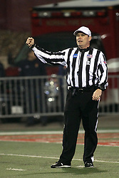 11 December 2015:  Stuart Mullins. NCAA FCS Quarter Final Football Playoff game between Richmond Spiders and Illinois State Redbirds at Hancock Stadium in Normal IL (Photo by Alan Look)