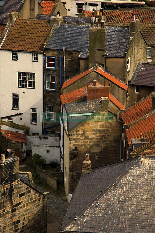 July 21, 2019 - Rooftops Of Staithes, Yorkshire, England (Credit Image: © John Short/Design Pics via ZUMA Wire)