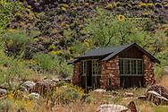 Cabin at Phantom Ranch in Grand Canyon National Park, Arizona, USA