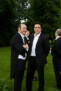 KEVIN SPACEY AND BENICIO DEL TORO, Raisa Gorbachev Foundation Party, at the Stud House, Hampton Court Palace on June 7, 2008 in Richmond upon Thames, London,Event hosted by Geordie Greig and is in aid of the Raisa Gorbachev Foundation - an international fund fighting child cancer.  7 June 2008.  *** Local Caption *** -DO NOT ARCHIVE-© Copyright Photograph by Dafydd Jones. 248 Clapham Rd. London SW9 0PZ. Tel 0207 820 0771. www.dafjones.com.