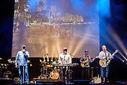 The Beach Boys performs during the Madgarden Festival Concert at the Royal Botanical Garden in Madrid 2014.