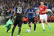 Club Brugge v Manchester United 260815
