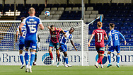 Ipswich Town defender James Wilson (5)  clears the ball  during the EFL Sky Bet League 1 match between Bristol Rovers and Ipswich Town at the Memorial Stadium, Bristol, England on 19 September 2020.