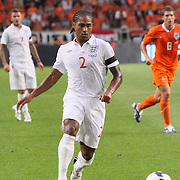 NLD/Amsterdam/20090812 - Nederland vs Engeland, Glen johnson