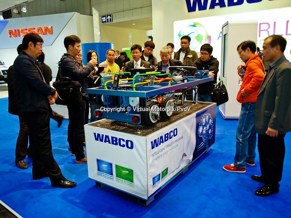 Wabco, Intelligent Trailer Program at the IAA 2012 in Hanover, Germany