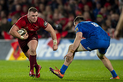 December 30, 2018 - Limerick, Ireland - Dave Kilcoyne of Munster and Jack Conan of Leinster in action during the Guinness PRO14 match between Munster Rugby and Leinster Rugby at Thomond Park in Limerick, Ireland on December 29, 2018  (Credit Image: © Andrew Surma/NurPhoto via ZUMA Press)