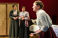 """Middletown, New York - The SUNY Orange Apprentice Players perform """"Three Sisters"""" on stage at the William and Helen Richards Theatre at Orange Hall on the Middletown campus of SUNY Orange on April 18, 2019."""