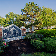 Photography of Pinehurst Apartments in Kansas City, Missouri for NAI Global.