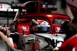 May 14, 2019 - Montmelo, Spain - CALLUM ILOTT test driver of Alfa Romeo Racing during the Formula 1 in season testing at Circuit de Barcelona-Catalunya in Montmelo, Spain. (Credit Image: © James Gasperotti/ZUMA Wire)