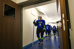 Jan Drozg of Slovenia during ice hockey match between Slovenia and Lithuania at IIHF World Championship DIV. I Group A Kazakhstan 2019, on May 5, 2019 in Barys Arena, Nur-Sultan, Kazakhstan. Photo by Matic Klansek Velej / Sportida