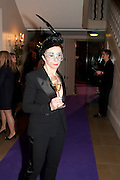 VICTORIA FERNANDEZ, The Surrealist Ball in aid of the NSPCC. Hosted by Lucy Yeomans and Harry Blain. Banqueting House. Whitehall. 17 March 2011. -DO NOT ARCHIVE-© Copyright Photograph by Dafydd Jones. 248 Clapham Rd. London SW9 0PZ. Tel 0207 820 0771. www.dafjones.com.