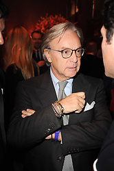 DIEGO DELLA VALLE at a Celebration of 10 Years of IHT Luxury Conferences during the International Herald Tribune Heritage Luxury Conference held at One Mayfair, 13 1/2 North Audley Streer, London on 9th November 2010.