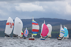 The Silvers Marine Scottish Series 2014, organised by the  Clyde Cruising Club,  celebrates it's 40th anniversary.<br /> Day 3, MIxed Fleet, Sonata, GBR8145N , Scruples , Chris Tait, Helensburgh SC, FRA37296, Salamander XXI, John Corson, CCC, First 35, IRL3061, Fools Gold, Robert McConnell, A35<br /> Racing on Loch Fyne from 23rd-26th May 2014<br /> <br /> Credit : Marc Turner / PFM