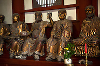 Raken or Buddha's Disciples at Sofukuji Temple, Nagasaki - Sofukuji has a unique pedigree for housing so many cultural assets in one temple in Western Japan.