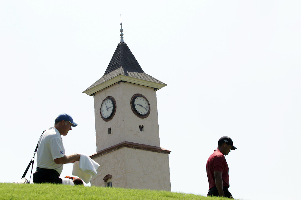 12 August 2007: during the final round of the 89th PGA Championship at Southern Hills Country Club in Tulsa, OK.