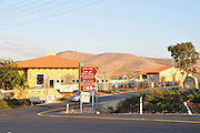 Israel, Jezreel Valley, Ma'ale Gilboa Communal Settlement