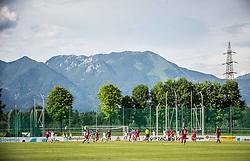 Action during 2nd Leg football match between NK Triglav Kranj and NS Drava Ptuj in Qualifications of Prva Liga Telekom Slovenije 2018/19, on June 6, 2018 in Kranj, Slovenia. Photo by Vid Ponikvar / Sportida
