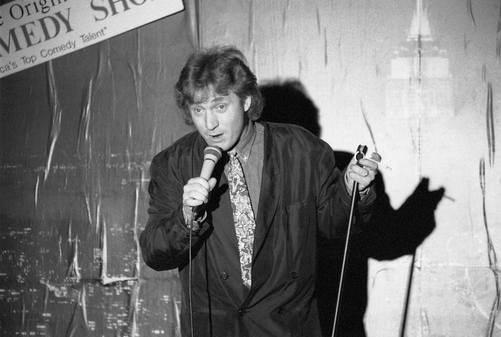 FOGELSVILLE - MARCH 21: Danny Bonaduce performs at Holiday Inn Fogelsville on March 21, 1992, in Fogelsville, Pennsylvania. ©Lisa Lake