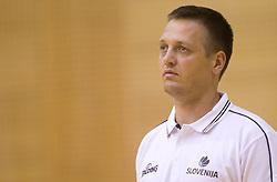 Aleksander Sekulic, assistant coach during practice session of Slovenian National Basketball team during training camp for Eurobasket Lithuania 2011, on July 12, 2011, in Arena Vitranc, Kranjska Gora, Slovenia. (Photo by Vid Ponikvar / Sportida)