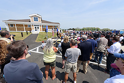 Overview of the Ribbon Cutting Ceremony for the New Meigs Point Nature Center at Hammonasset Beach State Park. A Connecticut State Project No: BI-T-601 | Northeast Collaborative Architects  Contractor: Secondino & Son