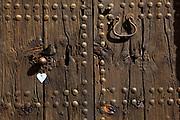 Door in Pollenca, in north western Mallorca.