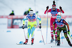 Vesna Fabjan (SLO), Sandra Ringwald (GER) during the ladies team sprint race at FIS Cross Country World Cup Planica 2016, on January 17, 2016 at Planica, Slovenia. Photo by Ziga Zupan / Sportida