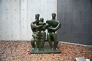Japan, Honshu Island, Kanagawa Prefecture, Fuji Hakone National Park, Hakone Open-Air Museum. Family Group by Henry Moore