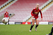 Manchester United Women midfielder Jackie Groenen (14) during the FA Women's Super League match between Manchester United Women and BIrmingham City Women at Leigh Sports Village, Leigh, United Kingdom on 24 January 2021.