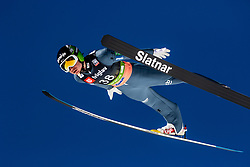 Anze Lanisek (SLO) during the Trial Round of the Ski Flying Hill Individual Competition at Day 1 of FIS Ski Jumping World Cup Final 2019, on March 21, 2019 in Planica, Slovenia. Photo by Matic Ritonja / Sportida