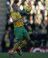 Photo: Lee Earle.<br /> Plymouth Argyle v Norwich City. Coca Cola Championship.<br /> 14/01/2006. Norwich's Jason Jarrett.